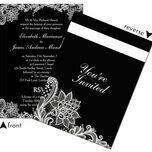 Romantic Lace Wedding Invitation additional 36