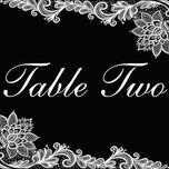 Romantic Lace Table Name additional 13