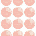 Romantic Lace Stickers - Sheet of 12 additional 1
