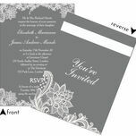 Romantic Lace Wedding Invitation additional 12