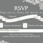 Romantic Lace RSVP additional 7