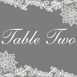 Romantic Lace Table Name additional 5