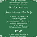Romantic Lace Wedding Invitation additional 31