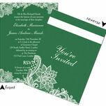 Romantic Lace Wedding Invitation additional 33