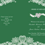 Romantic Lace Order of Service Cover additional 21