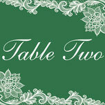 Romantic Lace Table Name additional 11