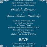 Romantic Lace Wedding Invitation additional 16