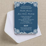 Romantic Lace Wedding Invitation additional 17