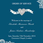Romantic Lace Order of Service Cover additional 22