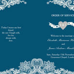 Romantic Lace Order of Service Cover additional 23