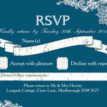 Romantic Lace RSVP additional 21