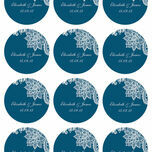 Romantic Lace Stickers - Sheet of 12 additional 11