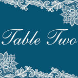 Romantic Lace Table Name additional 12