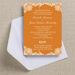 Romantic Lace Wedding Invitation additional 26