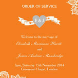 Romantic Lace Order of Service Cover additional 12