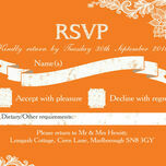 Romantic Lace RSVP additional 9