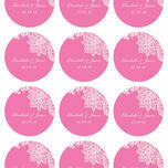 Romantic Lace Stickers - Sheet of 12 additional 6