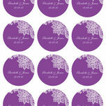 Romantic Lace Stickers - Sheet of 12 additional 8