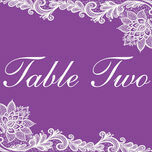 Romantic Lace Table Name additional 9
