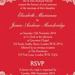 Romantic Lace Wedding Invitation additional 28