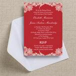 Romantic Lace Wedding Invitation additional 29