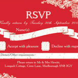 Romantic Lace RSVP additional 13