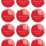 Romantic Lace Stickers - Sheet of 12 additional 7