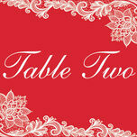 Romantic Lace Table Name additional 8