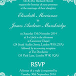 Romantic Lace Wedding Invitation additional 22