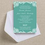 Romantic Lace Wedding Invitation additional 23