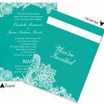 Romantic Lace Wedding Invitation additional 24