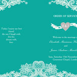 Romantic Lace Order of Service Cover additional 19