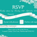 Romantic Lace RSVP additional 17
