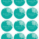 Romantic Lace Stickers - Sheet of 12 additional 9