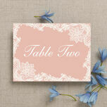 Romantic Lace Table Name additional 2