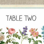 Rustic Botanical Table Name additional 1