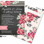 Rustic Floral Wedding Invitation additional 11