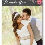 Rustic Floral Thank You Card additional 1