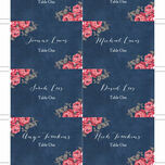 Rustic Floral Escort Cards - Set of 8 additional 6
