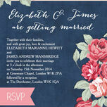 Rustic Floral Wedding Invitation additional 7