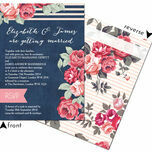 Rustic Floral Wedding Invitation additional 12