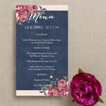 Rustic Floral Menu additional 6