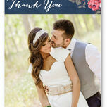 Rustic Floral Thank You Card additional 4