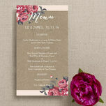 Rustic Floral Menu additional 7
