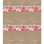 Rustic Floral Place Cards - Set of 9 additional 5