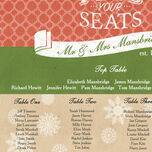 Rustic Winter Wedding Seating Plan additional 4