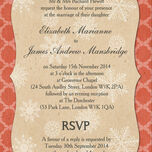 Rustic Winter Wedding Invitation additional 2