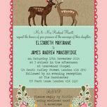 Rustic Woodland Wedding Invitation additional 2