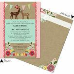 Rustic Woodland Wedding Invitation additional 3