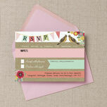 Rustic Woodland RSVP additional 2